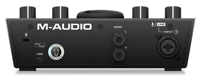 M-Audio AIR 192|4 (back panel)