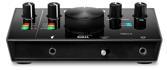 M-Audio AIR 192|4 (front panel)