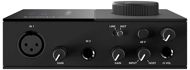 Native Instruments Komplete Audio 1 audio interface (front panel)