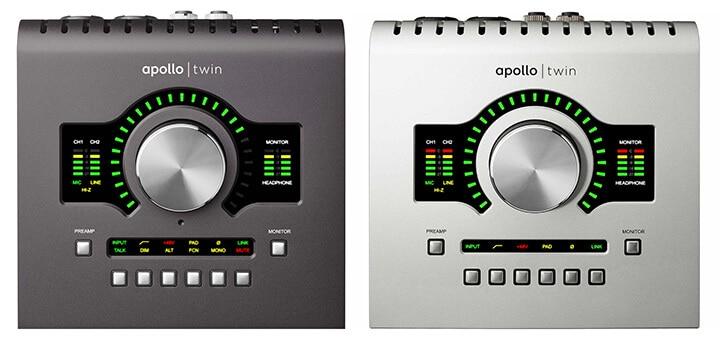 original Apollo Twin and Apollo Twin MkII