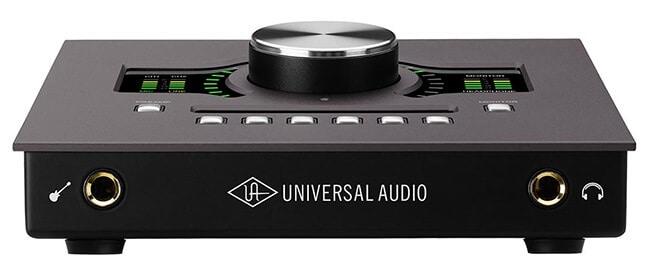 Universal Audio Apollo Twin MkII (front panel)