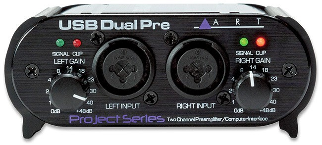 ART USB Dual Pre audio interface/preamp