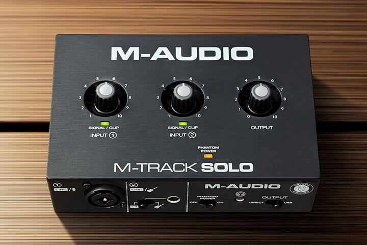 M-Audio M-Track Solo review