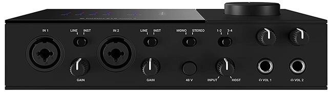 Native Instruments Komplete Audio 6 MkII (front panel)