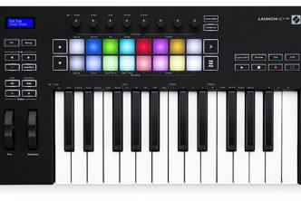 Novation Launchkey 25 Mk3 MIDI keyboard controller