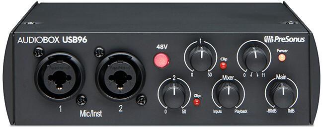 PreSonus AudioBox USB 96 USB audio interface (black)