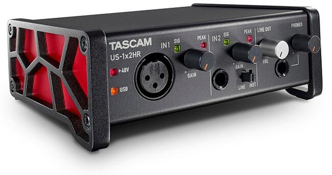 Tascam US-1x2HR USB-C audio interface