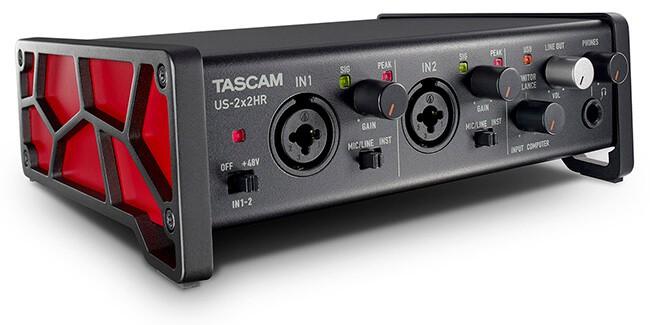 Tascam US-2x2HR USB-C audio interface