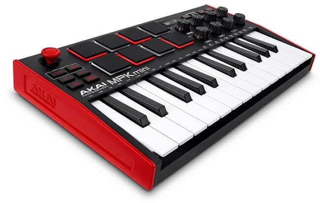 Akai MPK Mini Mk3 MIDI keyboard controller