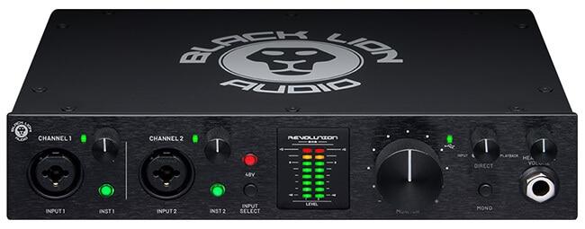Black Lion Audio Revolution 2x2 USB audio interface