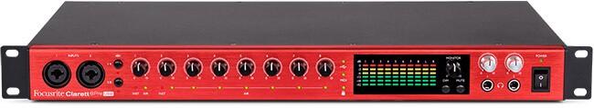 Focusrite Clarett 8Pre USB audio interface
