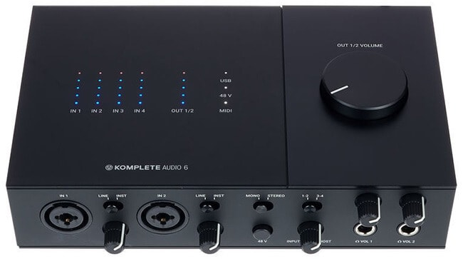 Native Instruments Komplete Audio 6 Mk2 USB audio interface