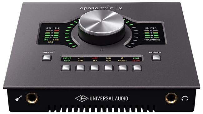 Universal Audio Apollo Twin X Thunderbolt audio interface