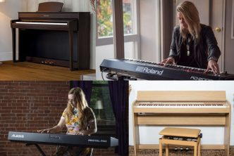 best digital pianos and keyboard pianos