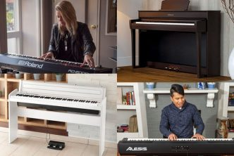 best keyboards and digital pianos with 88 weighted keys